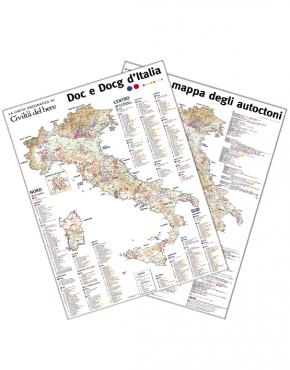mappa doc e docg e mappa autoctoni