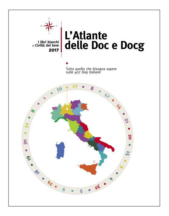 Atlante Doc e Docg 2017 cartaceo