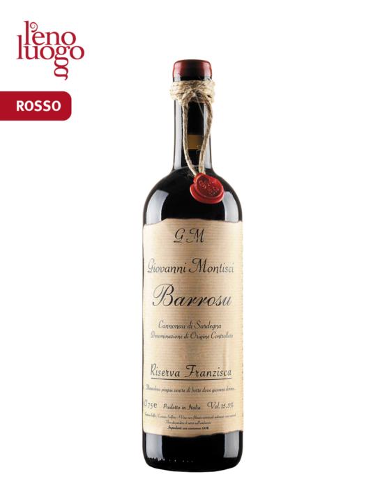 Barrosu Franziska, Cannonau di Sardegna Riserva Doc 2016 - Giovanni Montisci