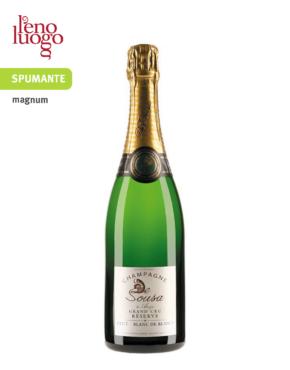Champagne Blanc de Blancs Grand Cru Reserve magnum - De Sousa