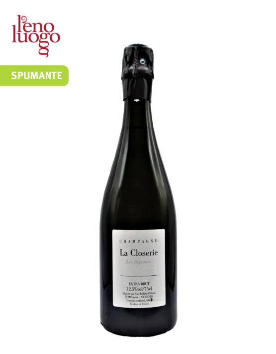 La Closerie Les Béguines, Champagne Extra Brut - Jerome Prevost