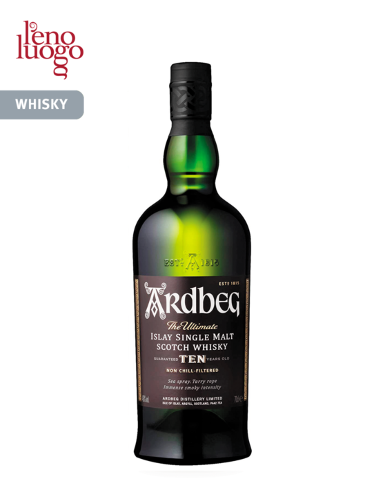 Whisky Ardbeg 10 years