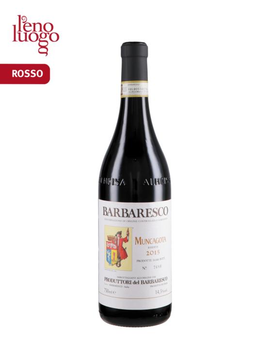 Barbaresco Muncagota Docg 2015 - Produttori del Barbaresco