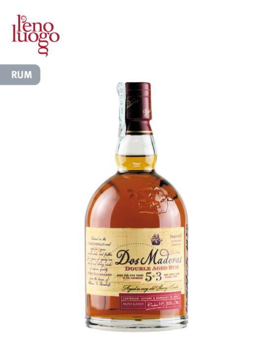 Dos Maderas, Double Aged Rum 5+3 Years Old – Williams & Humbert