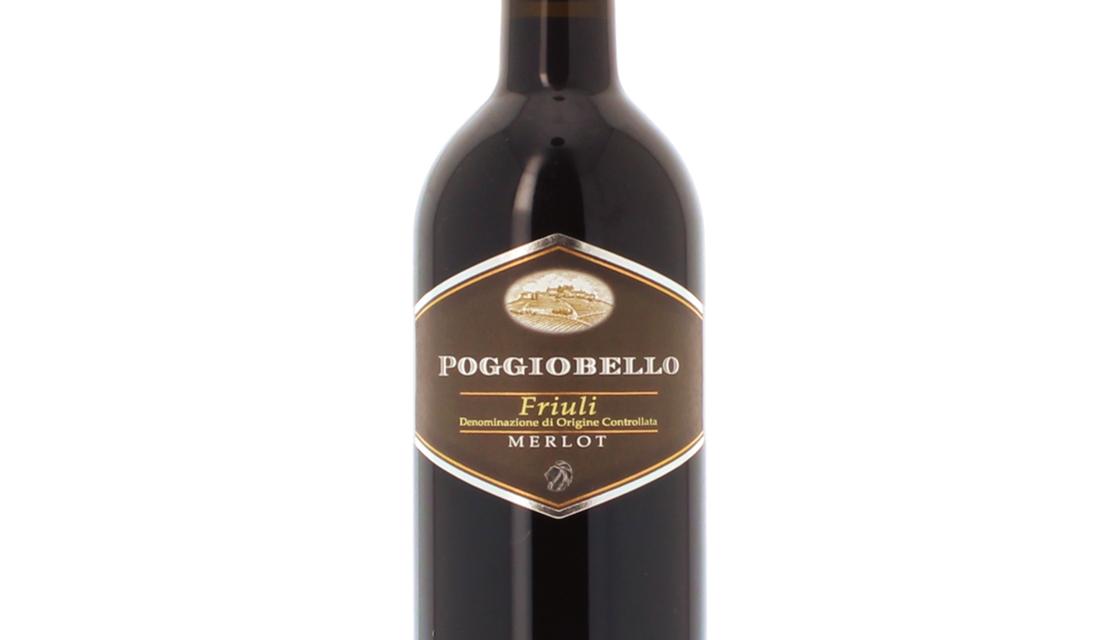 Friuli Colli Orientali Merlot Doc 2017 - Poggiobello