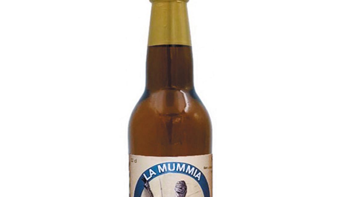 La Mummia, Blond Ale invecchiata in barrique - Montegioco